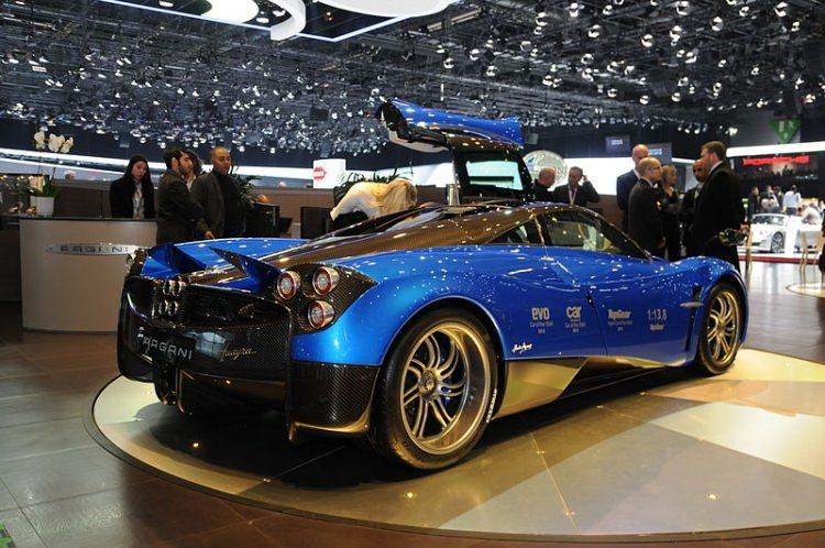 najdroższe samochody świata - Pagani Huayra BC