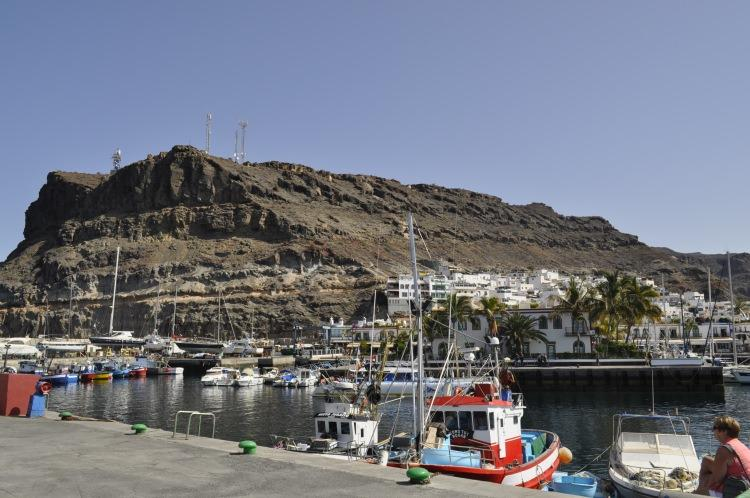 port w Puerto de Mogan