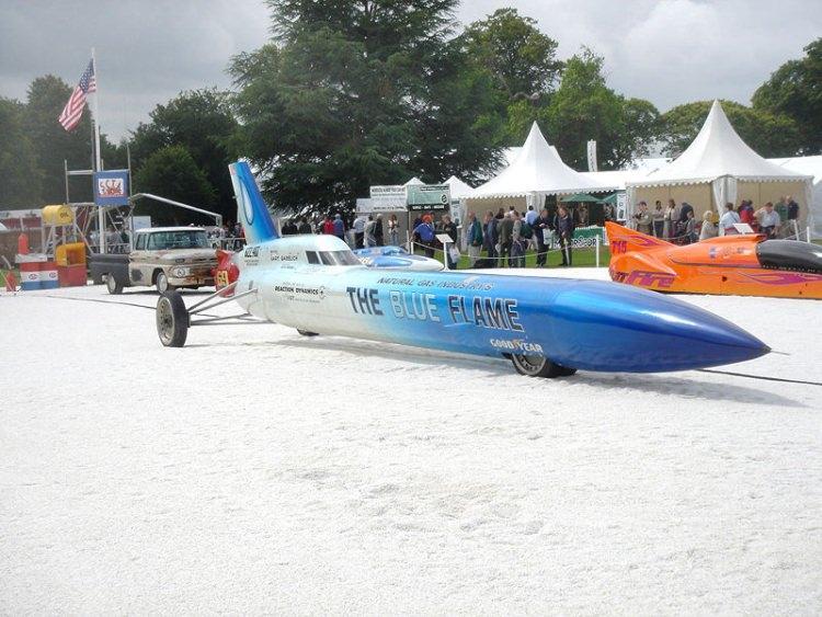 blue flame - rekordzista z Bonneville