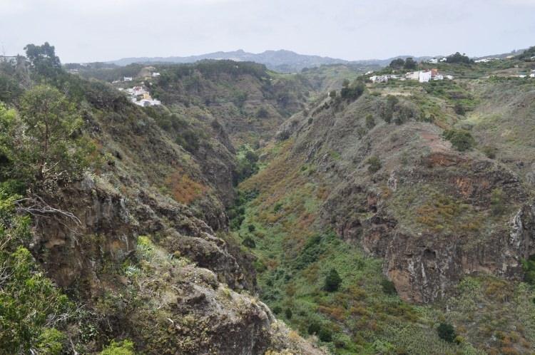 Wąwóz Barranco de Fataga