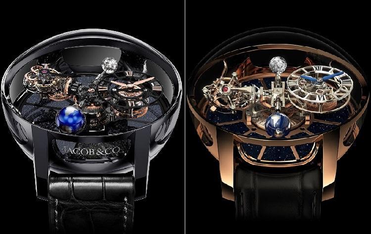 zegarek astronomia tourbillon