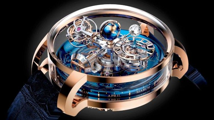 Nawet milion dolarów kosztować może zegarek Astronomia Tourbillon