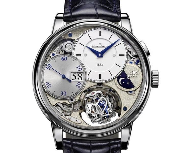Zegarek Gyrotourbillon z manufaktury Jaeger – LeCoultre należy do najdroższych zegrków na świecie