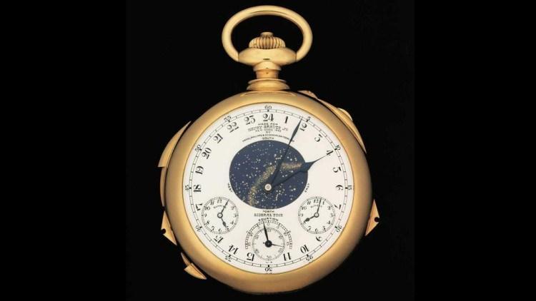 Patek Philippe Supercomplication - jeden z najbardziej skomplikowanych zegarków na świecie