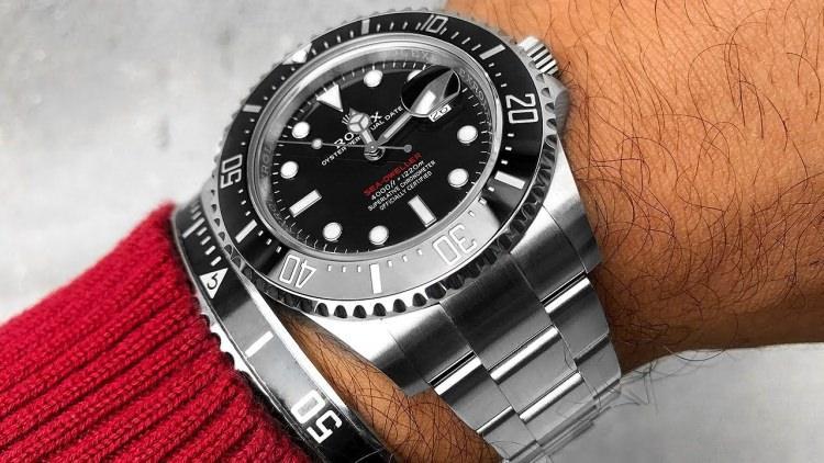 Rolex Sea Dweller to jeden z najdroższych zegarków na świecie