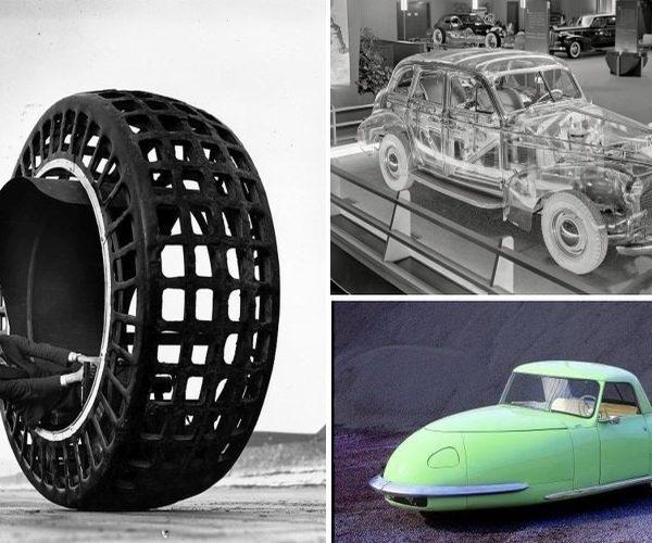 Dziwne i nietypowe samochody oraz pojazdy z przeszłości