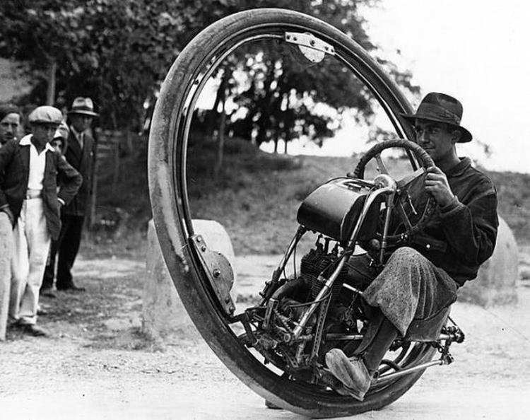 Motorwheel - jednoślad z 1931 roku