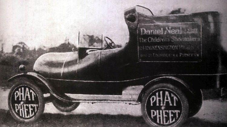 Przerobiony Ford Model T z 1921 roku