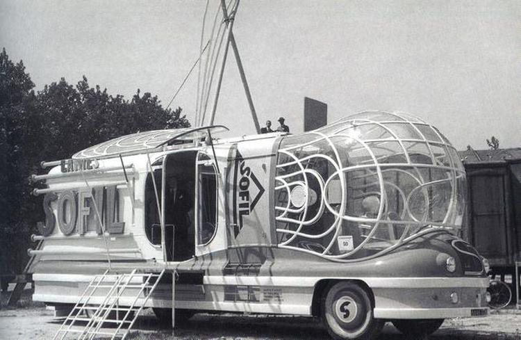 Autobus Sofil 1952 roku