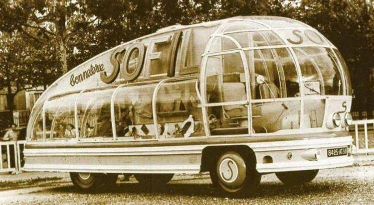 Autobus Sofil 1953 roku