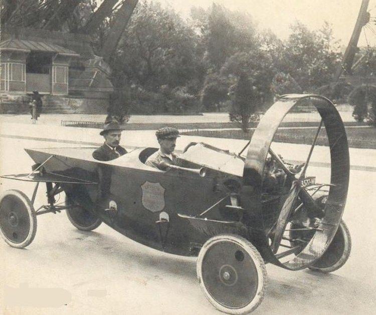 Leyat Hélica - pojazd napędzany śmigłem. Prototyp z 1914 roku