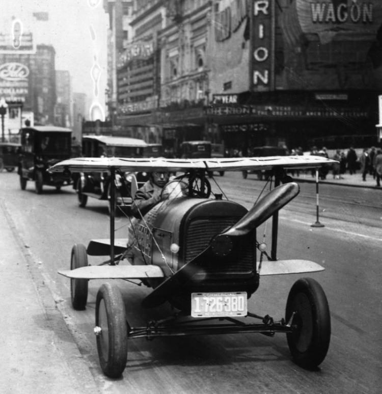 dziwne samochody z przesłości