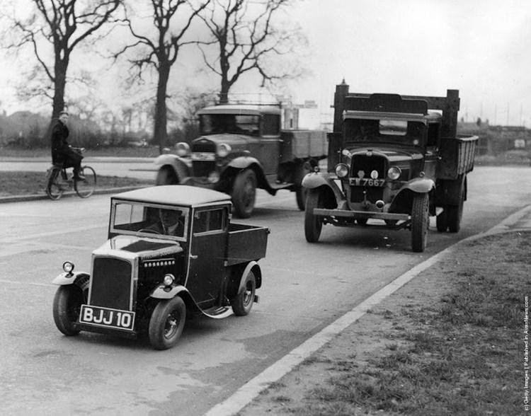 najmniejsza ciężarówka świata z 1935 roku