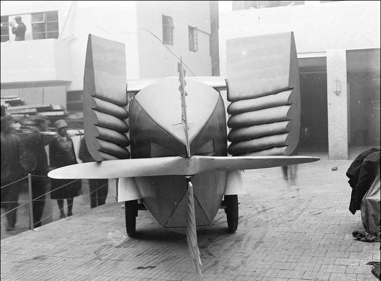 latający i pływający samochód - prototyp z 1928 roku