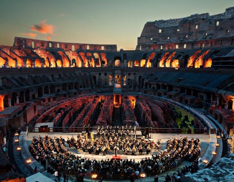 koncert w Koloseum