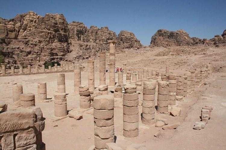 Wielka Świątynia w mieście Petra - Jordania