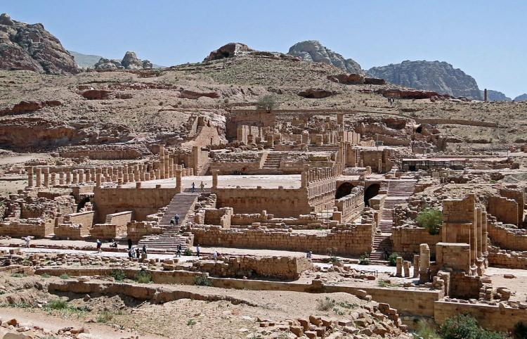 Petra - Wielka Świątynia