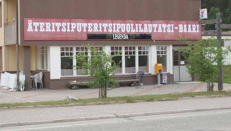 bar o dziwnej i trudniej do wypowiedzenia nazwie w Finlandii