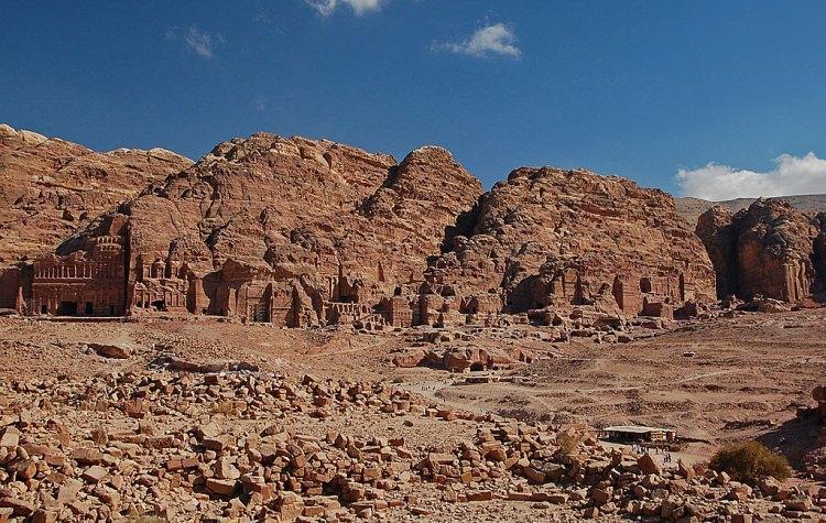 Wielki zespół Grobowców Królewskich - Petra, Jordania