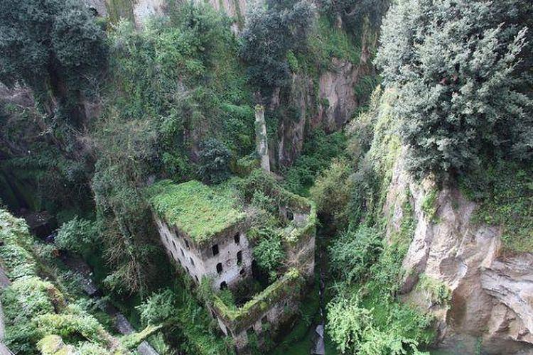 dolina młynów w Sorrento