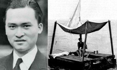 Poon Lim - marynarz, który samotnie przetrwał 133 dni na tratwie na oceanie w czasie II wojny światowej