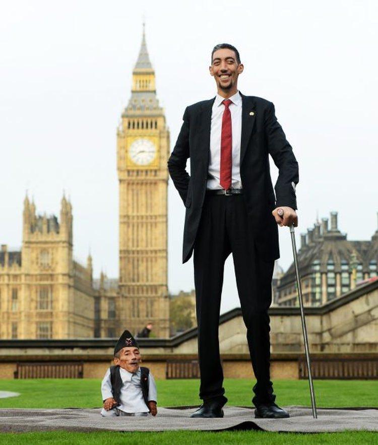 najwyższy człowiek na świecie