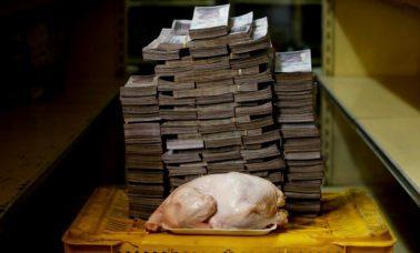 inflacja w Wenezueli zdjęcia