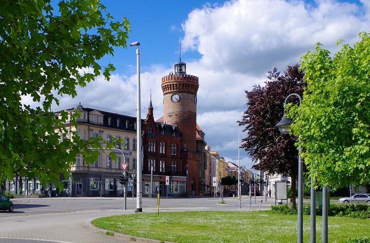 Mury miejskie z wieżą Spremberg