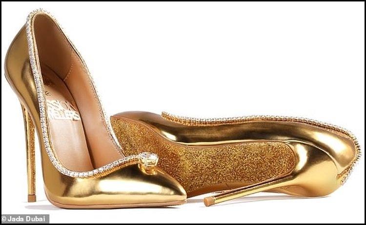 Najdroższe buty na świecie - szpilki zaprezentowane w Dubaju