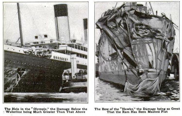 Wypadek RMS Olympic