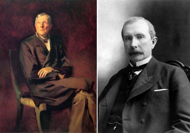 John Rockefeller historia