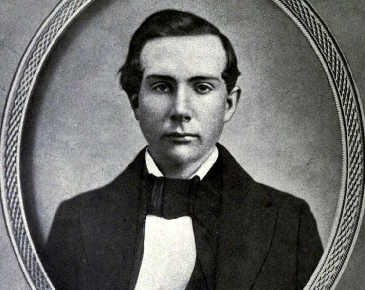 John D. Rockefeller w wieku 18 lat