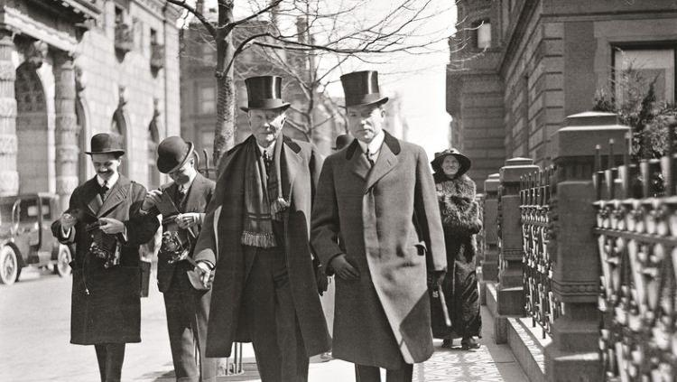 John D. Rockefeller z synem