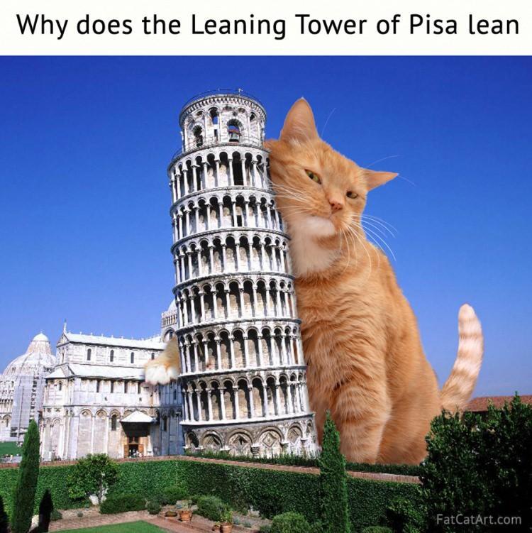 dlaczego krzywa wieża w Pizie jest krzywa?