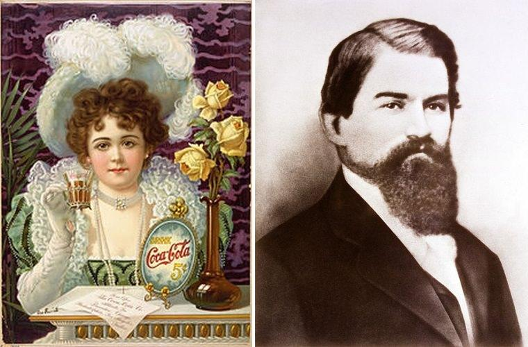 John Stith Pemberton twórca receptury Coca-Coli