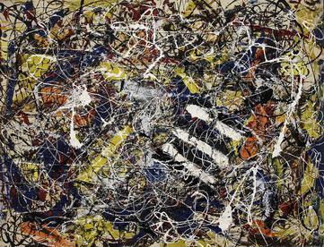 Jackson Pollock Number 17A