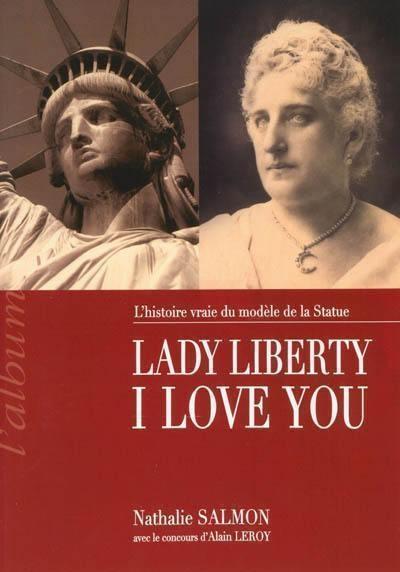 "Okładka książki ""Lady Liberty I love you"""