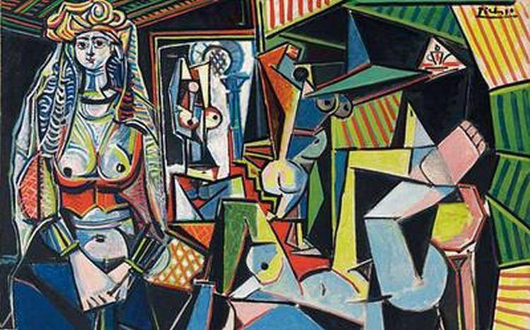 Les femmes d'Alger, obraz Picassa