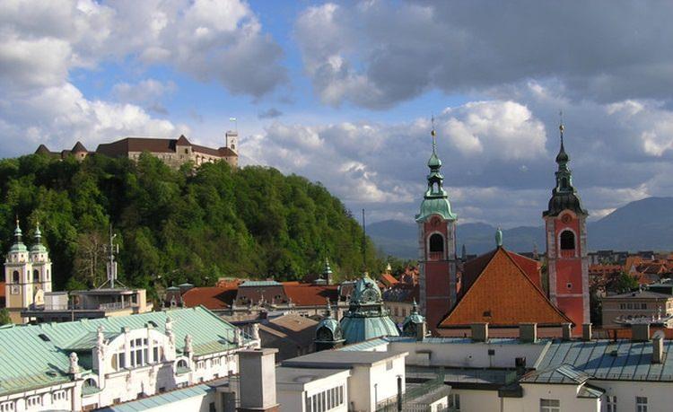 zamek Grad Ljubljana