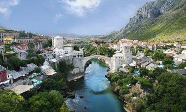 Panorama Mostaru