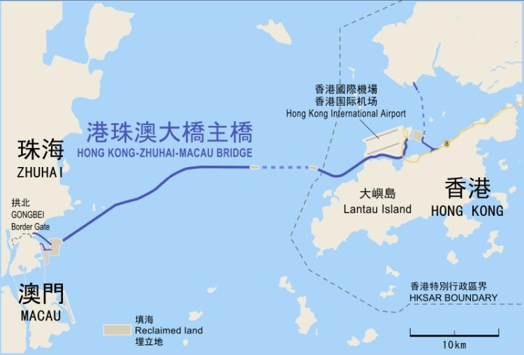 most w chinach jest najdłuższym mostem na świecie