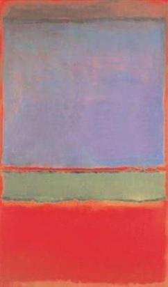obraz No. 6 (Violet, Green and Red) Mark Rothko