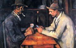 obraz The Card Players Paul Cézanne