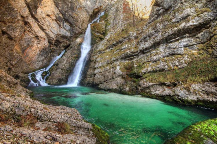 Wodospad Savica Słowenia