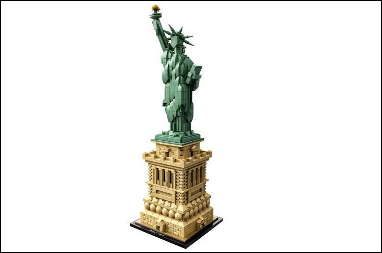 Statua Wolności z LEGO