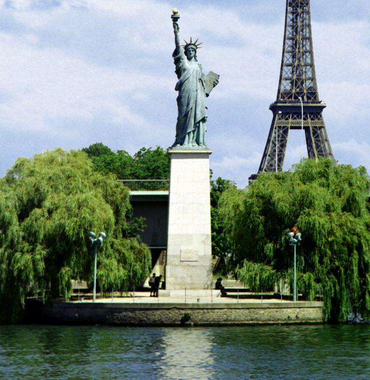 Statua Wolności w Paryżu