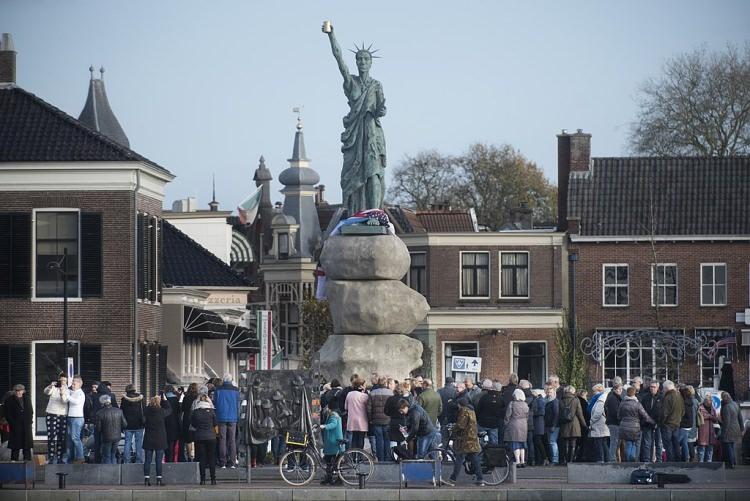 Replika Statuy Wolności w Holandii