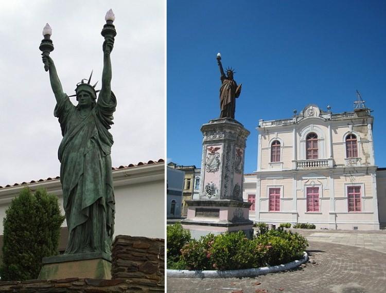 repliki Statuy Wolności na świecie