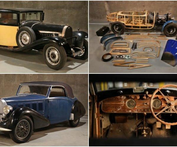 Bugatti z lat 30. odnalezione w stodole