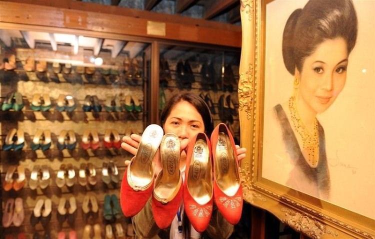 Buty byłej pierwszej damy Filipin w muzeum
